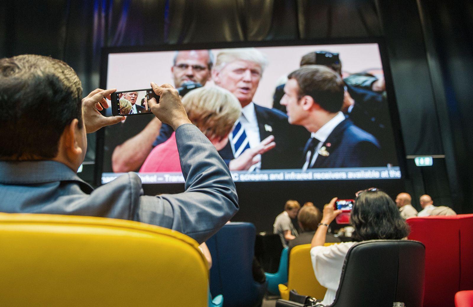 G20/ Medienzentrum