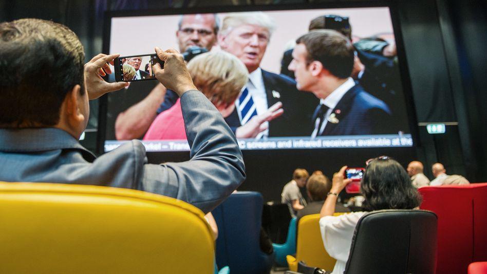 Medienzentrum beim G20-Gipfel