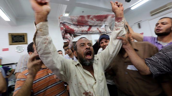 Aufruhr in Ägypten: Eskalation vor Militärgelände