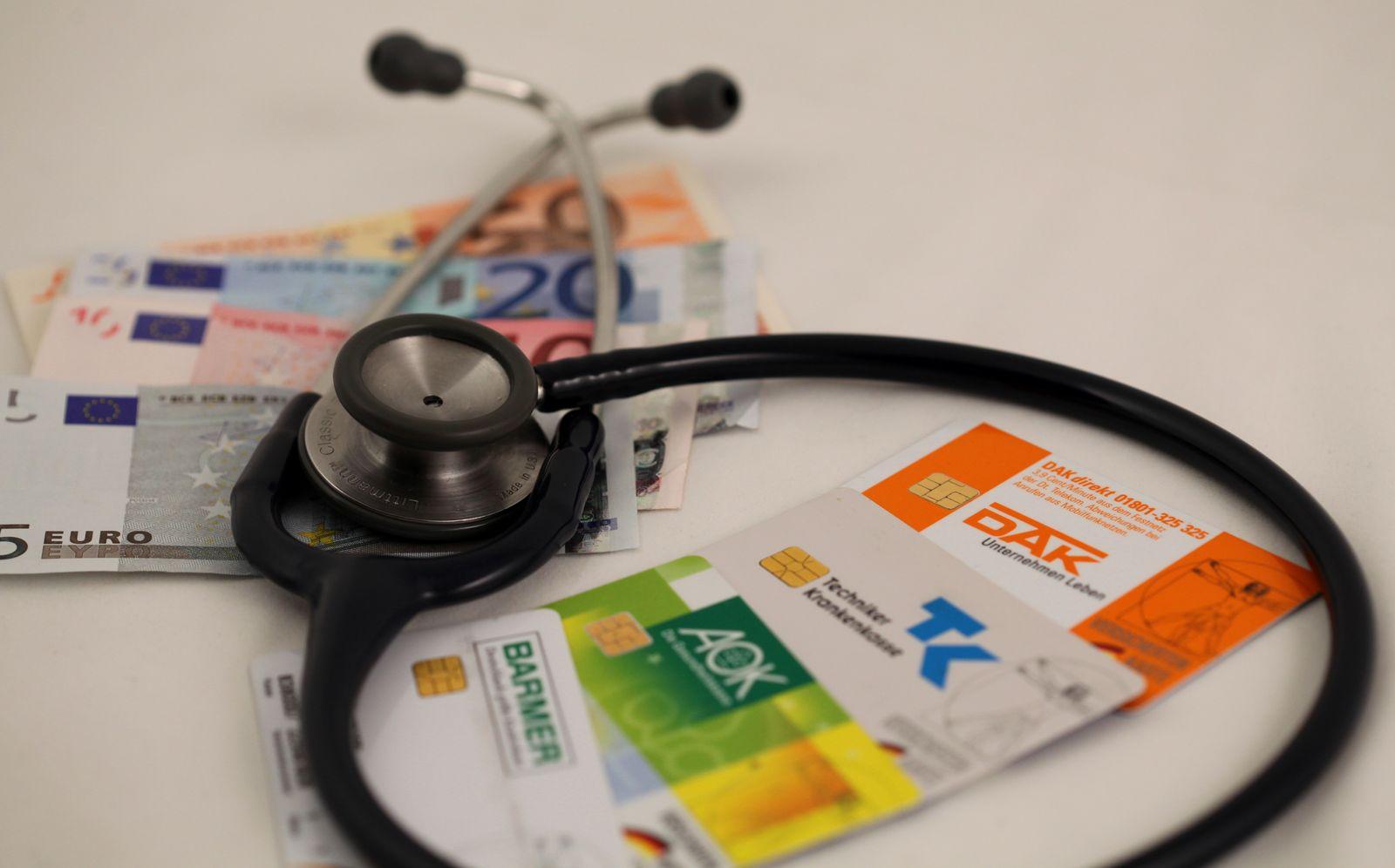 Krankenkassen /Zusatzbeitrag / Symbolbild
