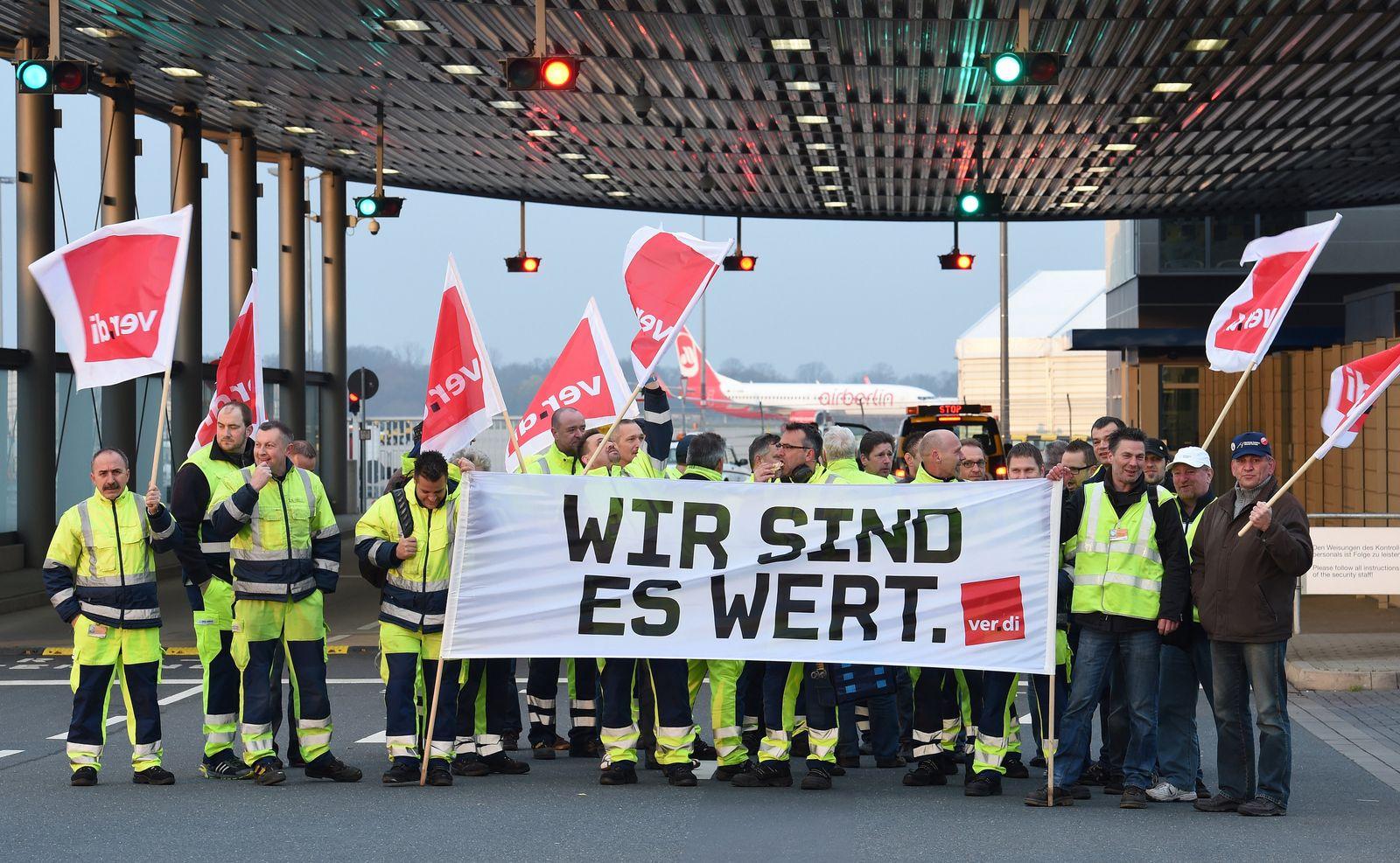 Streik / Flughafen