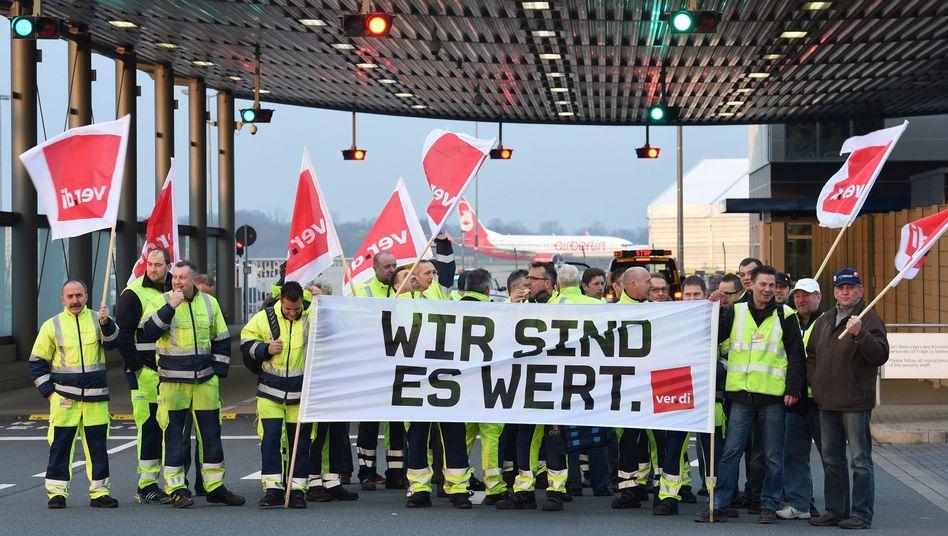 Ver.di-Streik: Airlines streichen in Frankfurt Hälfte aller Flüge