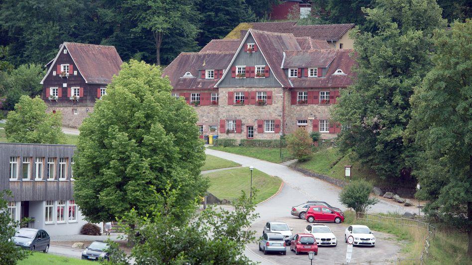 Die Odenwaldschule in Ober-Hambach bei Heppenheim (Hessen)