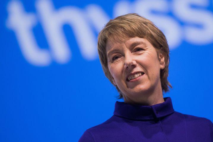 Martina Merz ist die dritte Führungsspitze innerhalb von nur 15 Monaten - und nur Übergangslösung