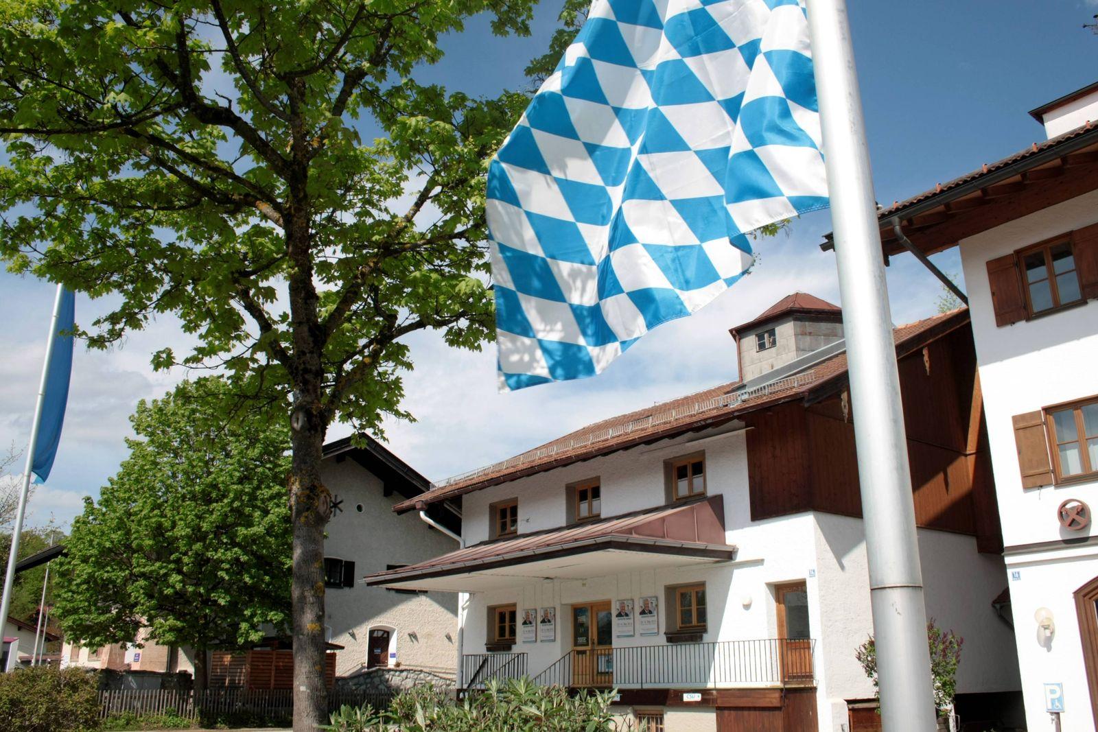 EINMALIGE VERWENDUNG CSU/ Tegernsee/ Bad Wiessee