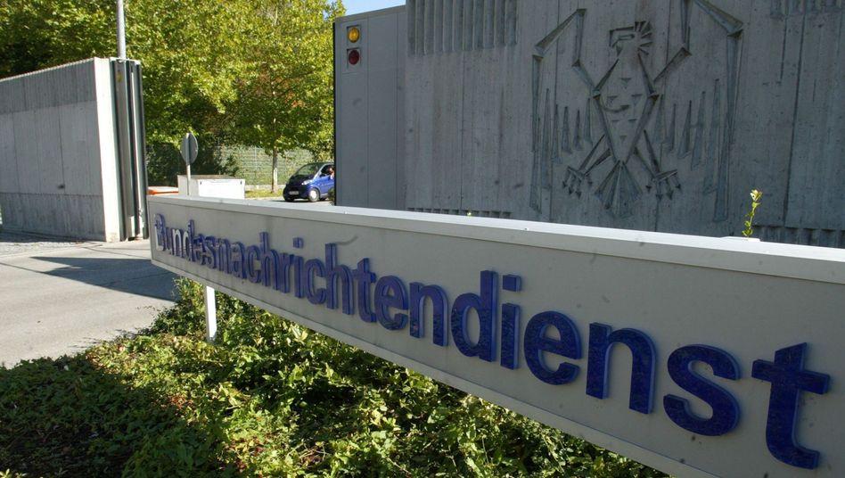 BND-Zentrale in Pullach: Der Geheimdienst bleibt bis zur Fertigstellung seiner neuen Zentrale in Berlin an seinem alteingesessenen Dienstsitz in Bayern.