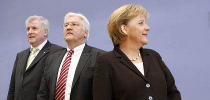 """Seehofer, Steinmeier, Merkel: """"Sie lässt sich auf der Nase herumtanzen"""""""