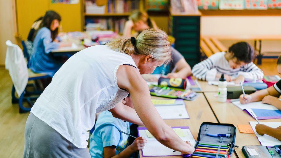 Ganztagsbetreuung in der Grundschule: Bis 2025 will die Große Koalition einen Rechtsanspruch schaffen.
