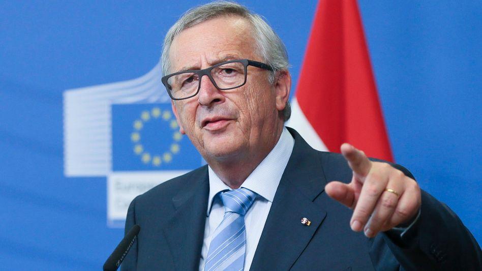 Kommissionschef Jean-Claude Juncker