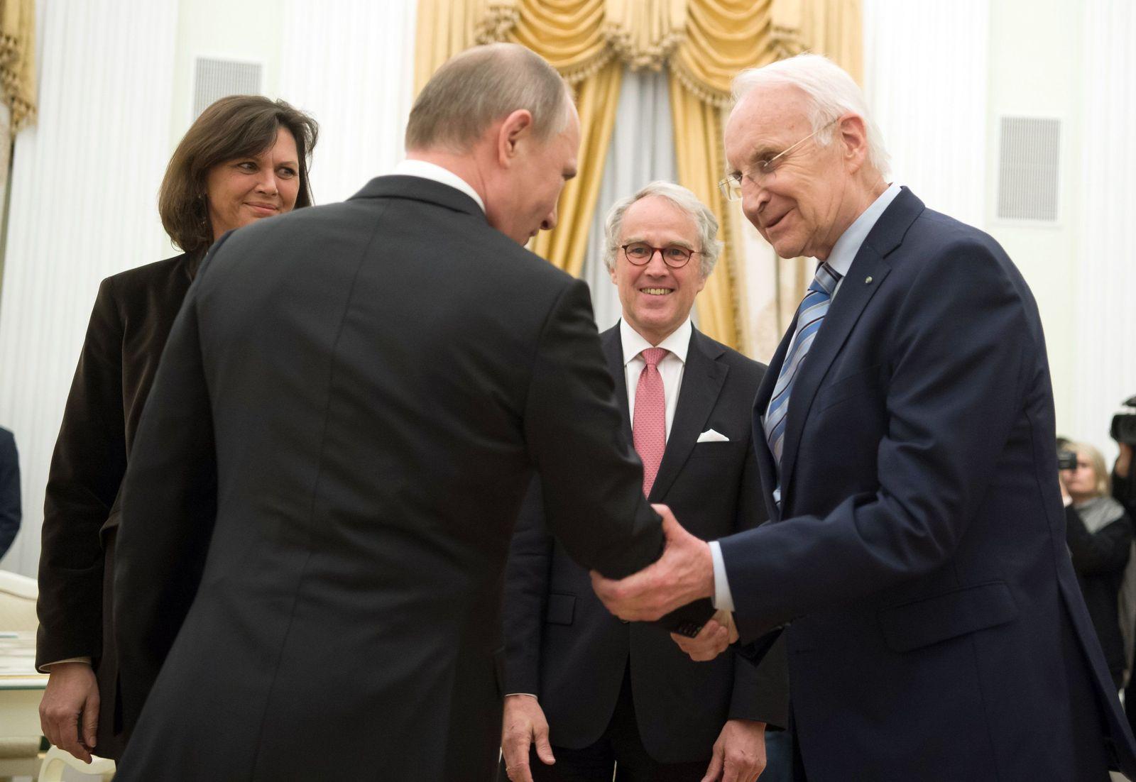 Wladimir Putin/Edmund Stoiber