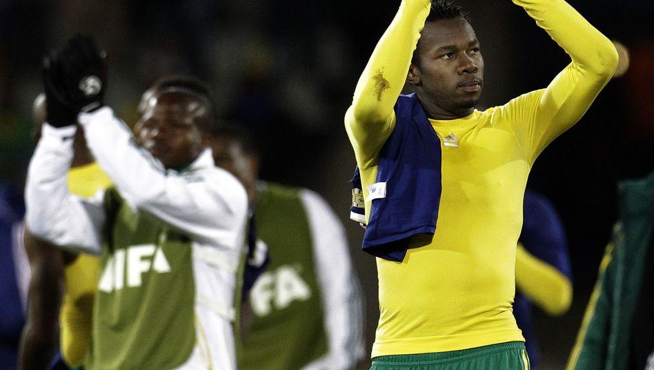 Südafrikas Bongani Khumalo (r.): Zwei Tore waren zu wenig