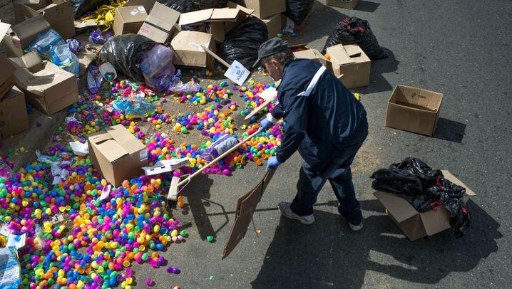 Chaotischer Rekordversuch: Osterterror in Sacramento