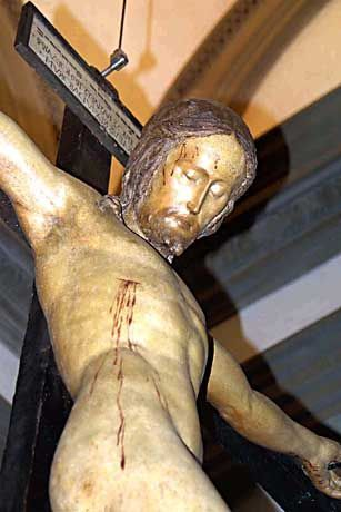 Von Michelangelo angefertigtes Kruzifix: Physiker reden selten über Glaubensfragen
