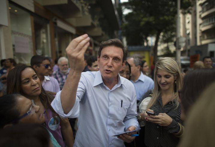 Crivella im Wahlkampf (Archivbild von 2014)