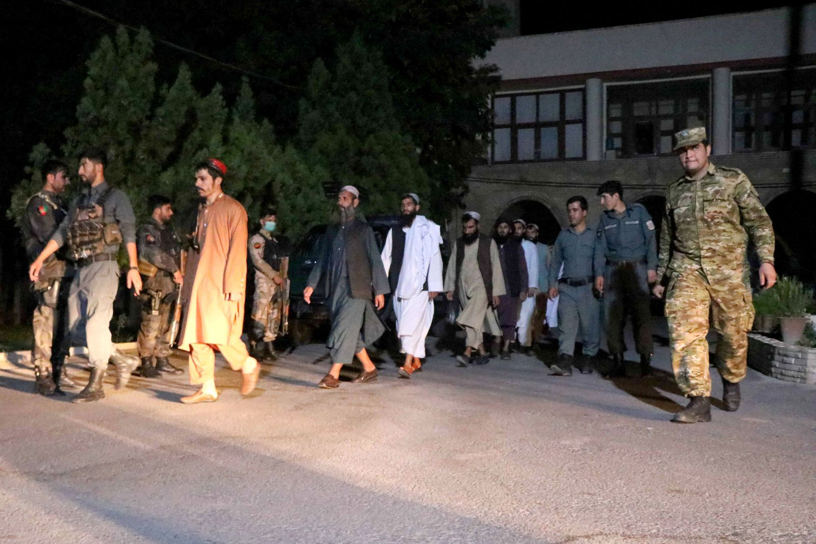 Taliban prisoners released by the Afghan government, Herat, Afghanistan - 17 Jun 2020