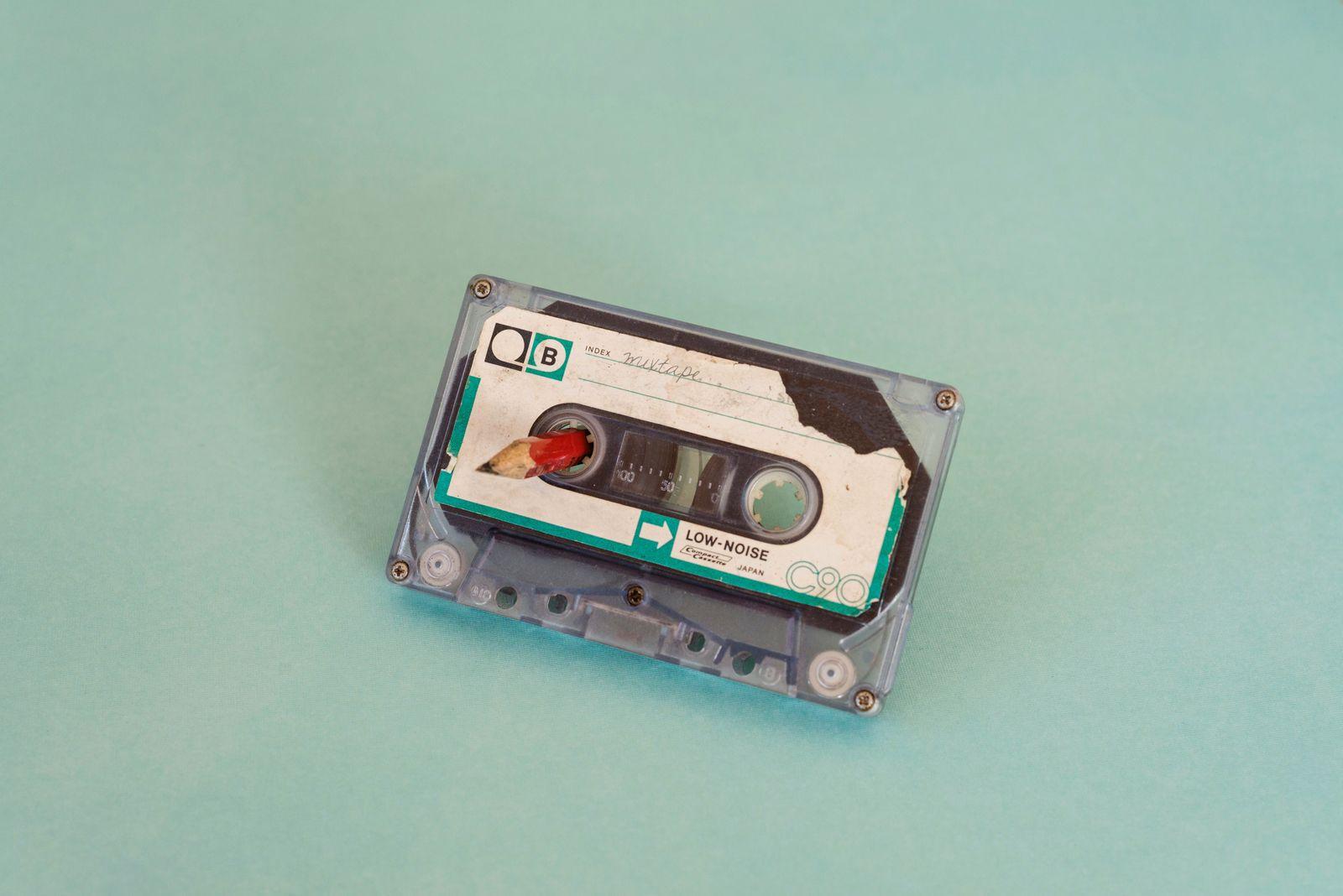cassette music tape