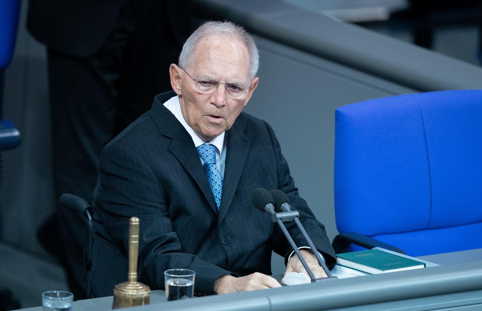 Bundestag - Fortsetzung Haushaltswoche