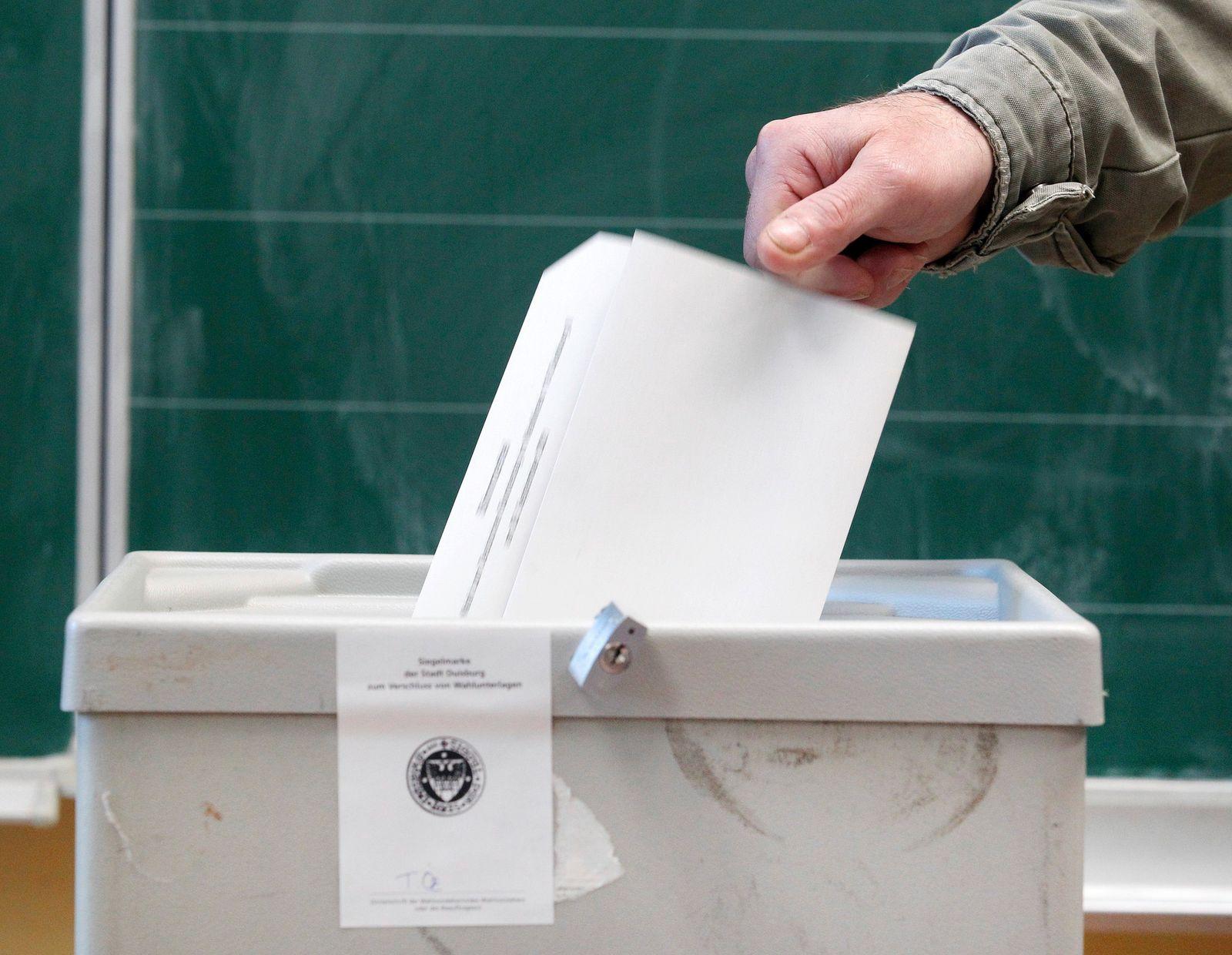 Bundestagswahl in Nordrhein-Westfalen - Feature