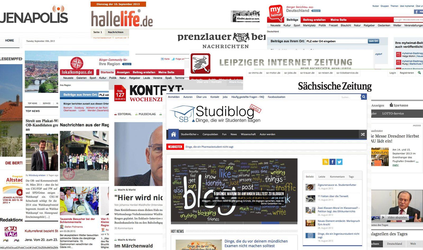Zeitungsdebatte/ Lokal Online
