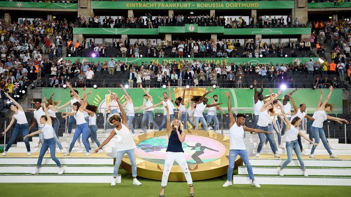 Helene Fischer: Pfeifkonzert im Pokalfinale