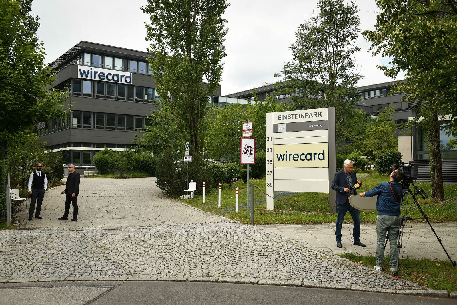 Wirecard files for insolvency, Aschheim, Germany - 25 Jun 2020