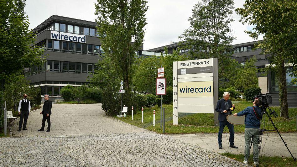 Wirecard-Hauptsitz in Aschheim nahe München