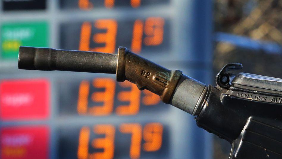Tankstelle in Kaufbeuren