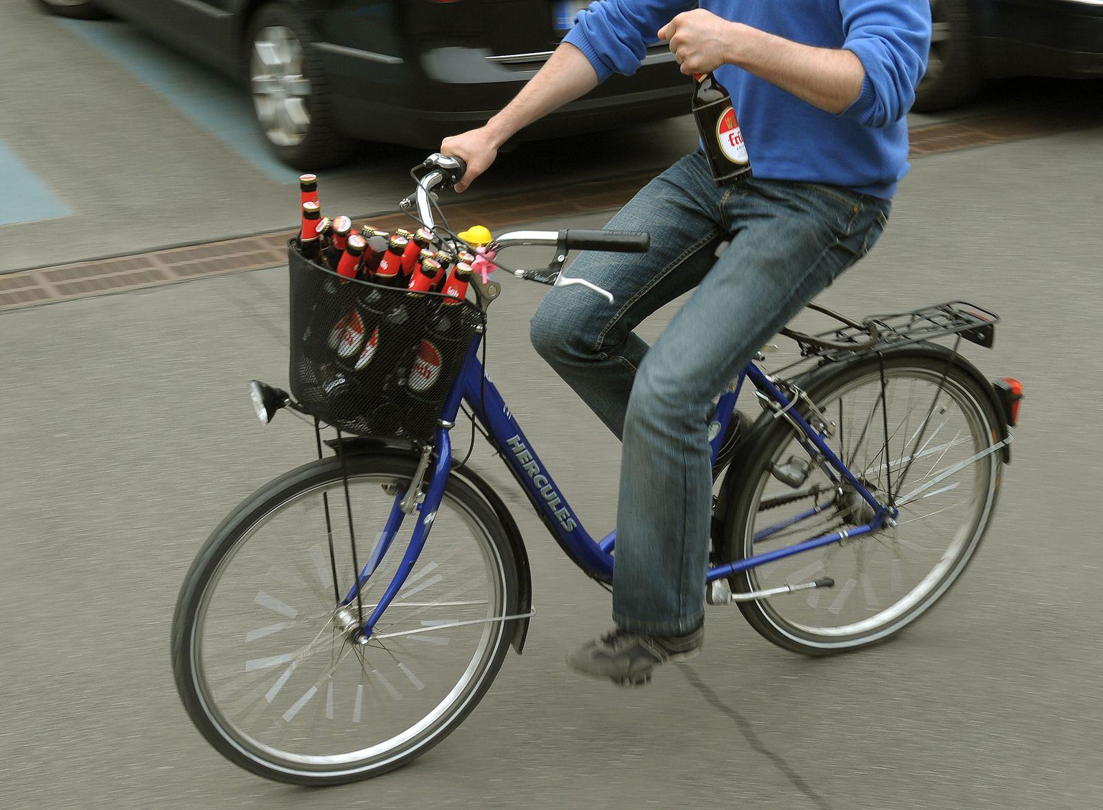 Strengere Promillegrenze für Radfahrer