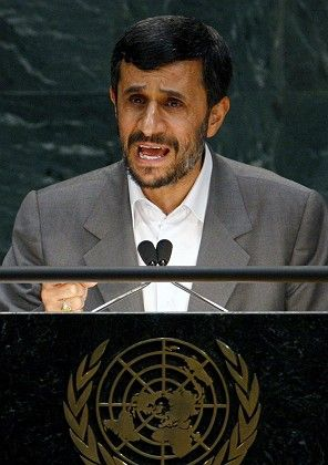 Iranian President Mahmoud Ahmadinejad was defiant in his speech to the UN General Assembly.