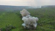Sprengstoff gegen Waldbrände