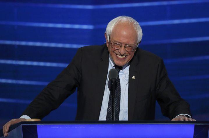 Bernie Sanders, inzwischen #TeamHillary