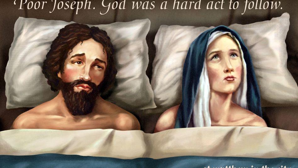 """Maria und Josef: """"Es ist schon schwer, mit Gott konkurrieren zu müssen"""""""