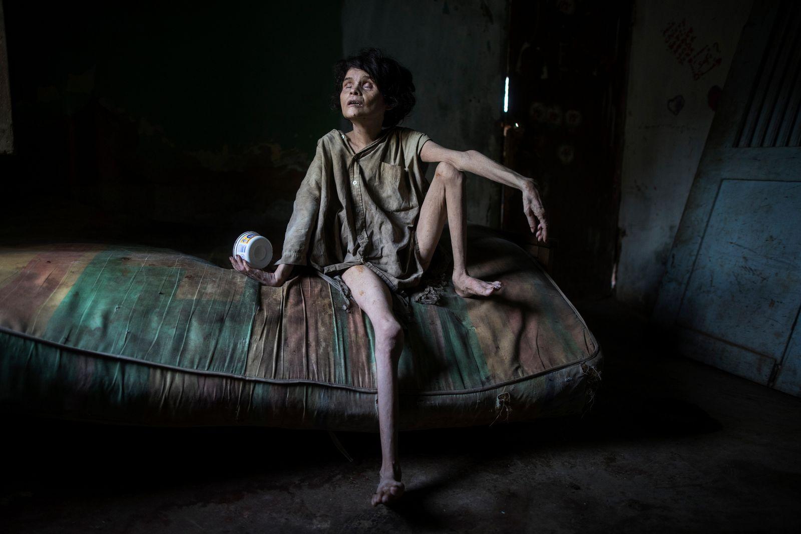 APTOPIX Venezuela Death's Burden