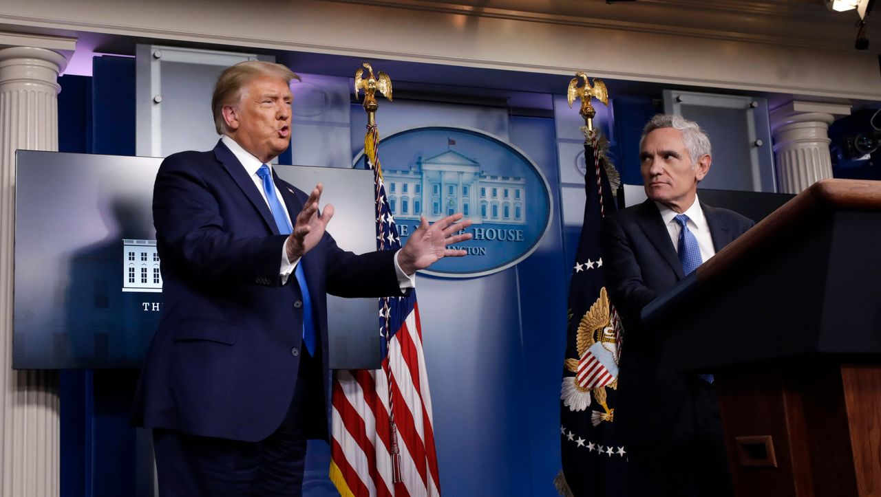 US-Immunologe Fauci kritisiert Falschaussagen von Trumps Corona-Berater...