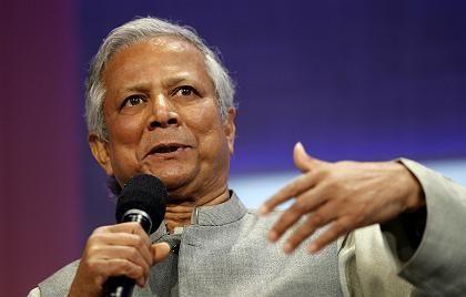 """Ökonom Yunus: """"Und plötzlich stellte man fest: Diese Schlösser existieren ja gar nicht!"""""""