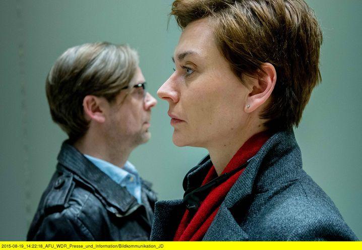 """Christiane Paul mit Matthias Matschke in """"Unterm Radar"""""""