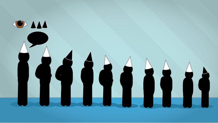 Rätsel der Woche: Zehn Hüte, zehn Logiker