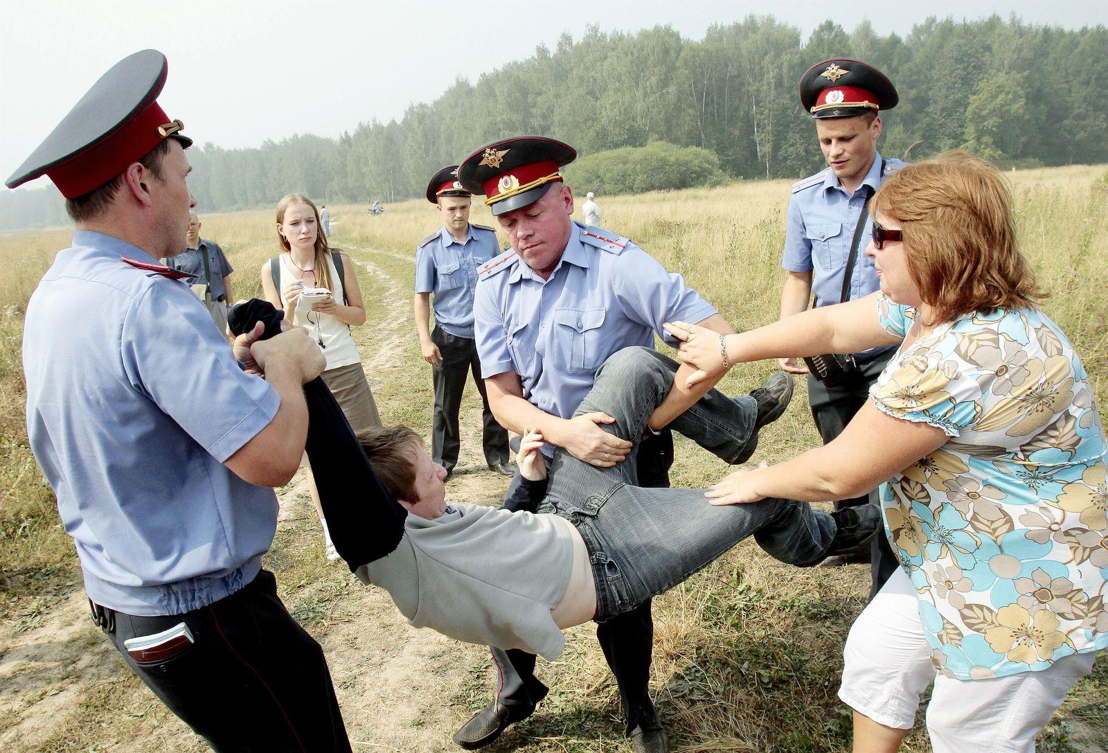 Russland / Protest Chimki