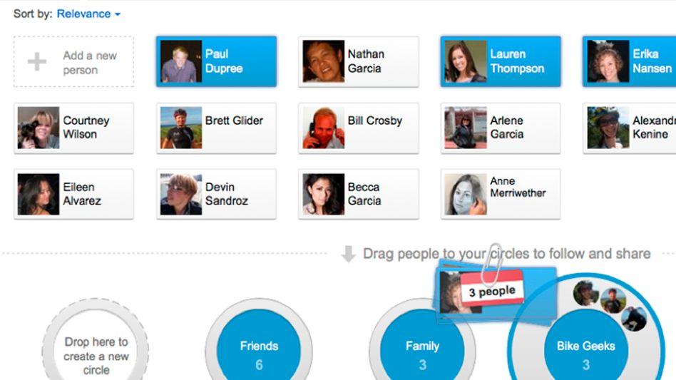Google-Screenshot: Facebook hat 750 Millionen Nutzer, Google+ ist davon weit entfernt
