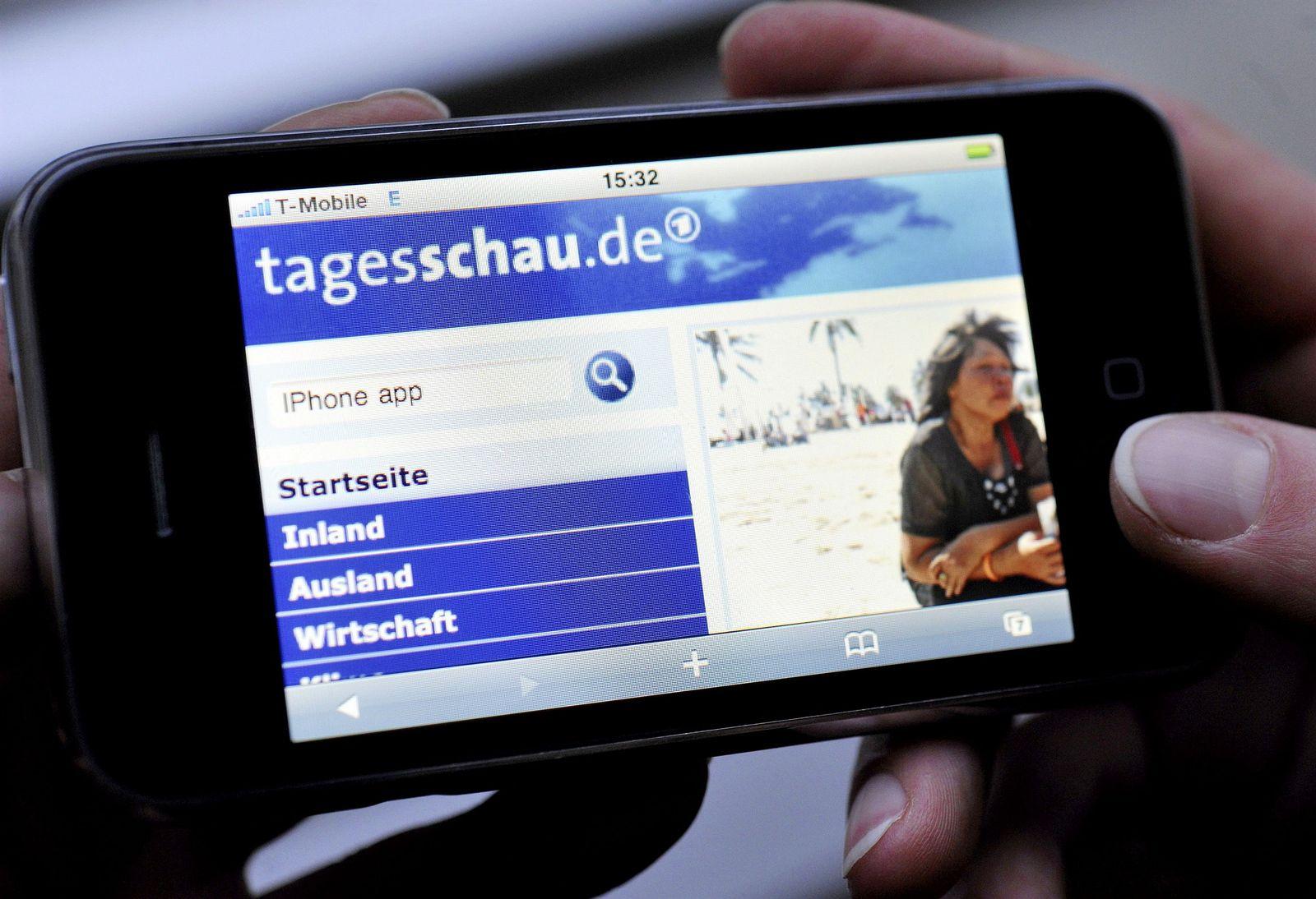 iPhone / Tagesschau (KEINE APP!)