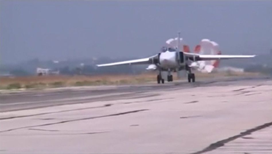 Russisches Kampfflugzeug