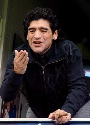 "Weltmeister Maradona: ""Will Pekerman nicht den Posten wegnehmen"""
