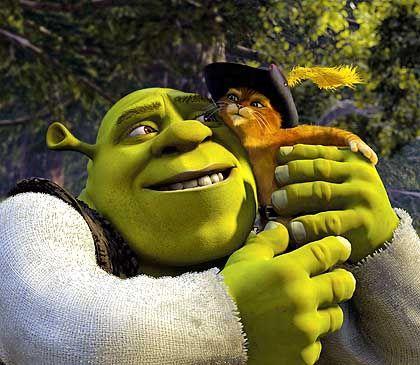 Blockbuster-Held von Hollywood: Animationsmonster Shrek