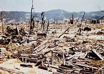 Zerstörtes Hiroshima: Unterträgliche Hitze