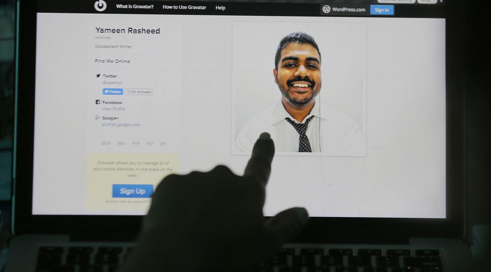 Maldives Blogger Killed