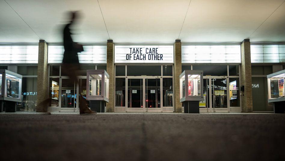 Das Kino International in Berlin-Mitte