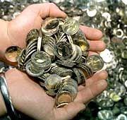 Siegeszug durch Europa: Euro-Münzen aus Deutschland