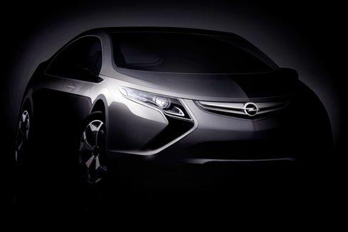 Opel Ampera: So soll der technische Zwilling des Chevrolet Volt aussehen