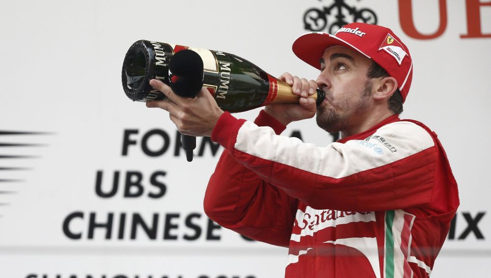Großer Preis von China: Fernandos Flugstunde im Ferrari