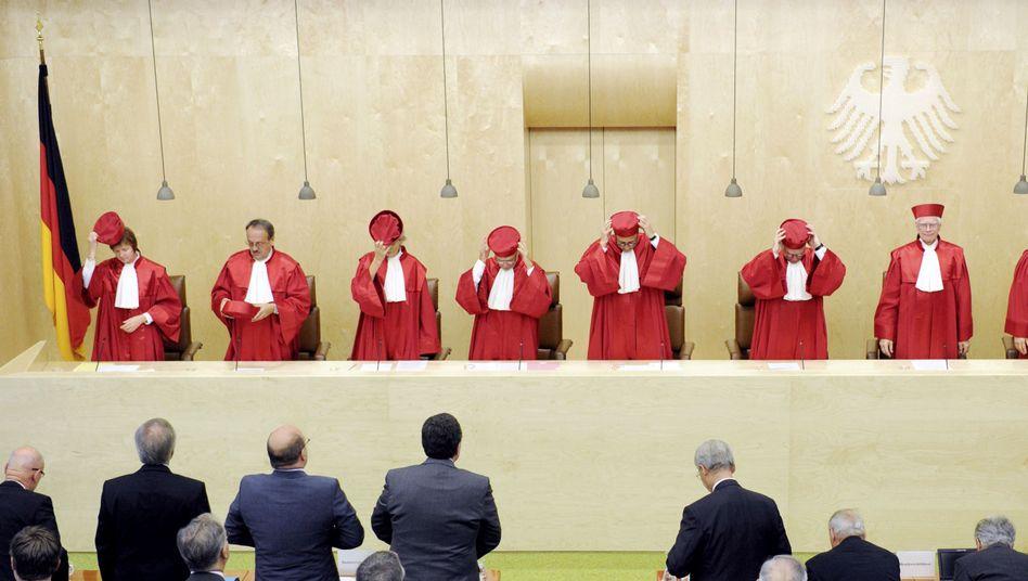 Zweiter Senat des Bundesverfassungsgerichts: Warnung vor Entmündigung der Staaten